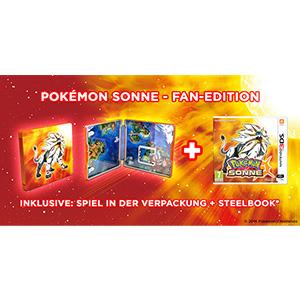 Pokemon Sonne oder Mond als Steelbook-(Fan-)Edition für jeweils 37€ [Real Abholung]