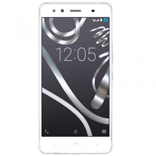 [Redcoon] Bq Aquaris X5 Smartphone (12,7 cm (5 Zoll), QC, 1,4 GHz, 16GB, 2GB RAM, 13 Megapixel Kamera, Dual Sim) weiß/silbr