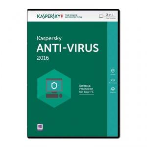 Kaspersky Lab Anti-Virus 2016 3 Nutzer 1 Jahr[mymemory]