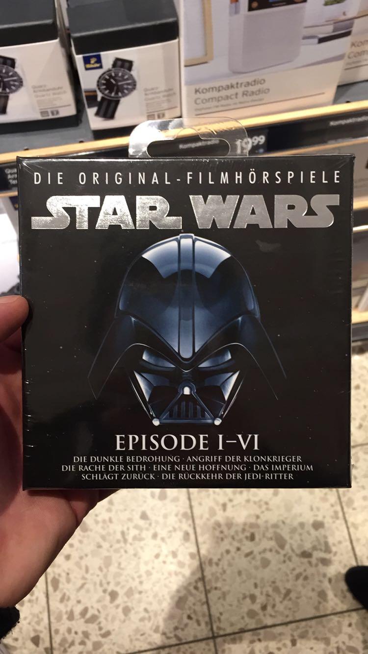 [Lokal?] real Coesfeld: Star Wars Filmhörspiele Episoden I-VI