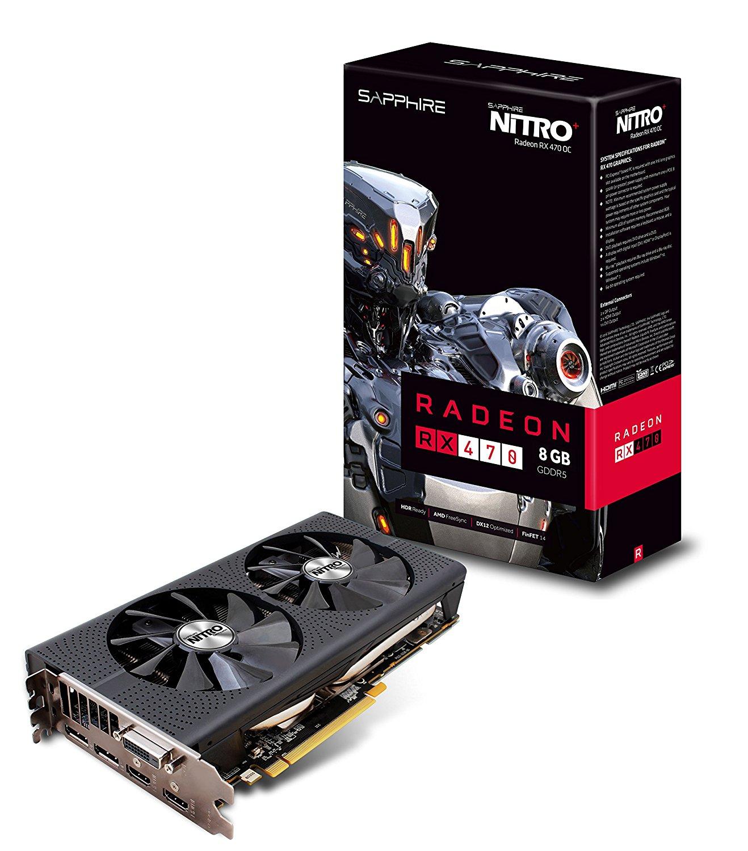 Sapphire Nitro+ Radeon RX 470 8G D5 (8GB GDDR5) für 209,75€ [Amazon.fr]