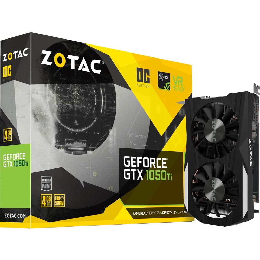 ZOTAC GeForce GTX 1050 Ti OC (Masterpass @ Rakuten)