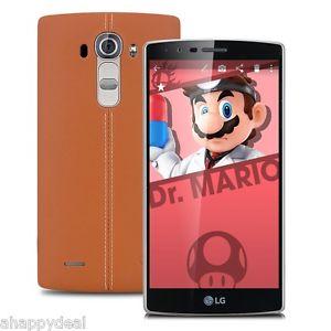 LG G4 Dual-Sim Leder braun, 32 GB ROM, 3GB Ram, Marshmallow für 245,09€ statt 319€ bei ebay