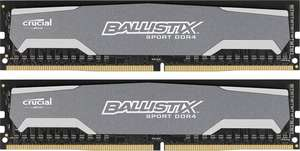 Crucial Ballistix Sport 16GB Kit DDR4-2400 2x8GB CL16 @plexcom