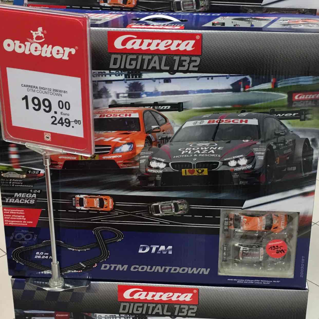 [München] Carrera Digital 132 DTM Countdown (Spielwaren Obletter am Stachus)