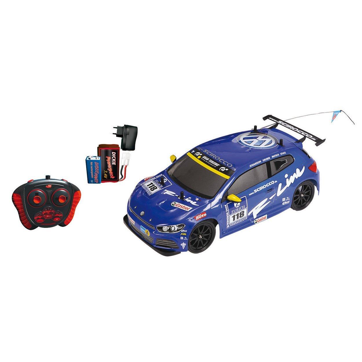[@Dealclub] Dickie-Spielzeug VW Scirocco 2-Kanal Funkfernsteuerung-Fahrzeug (+3% shoop)