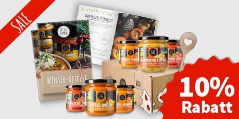 Geschenkidee: Little Lunch Weihnachtsbox 10% Rabatt