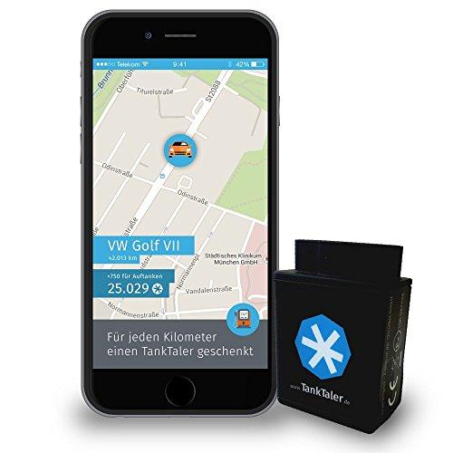 TANKTALER: Auto-Tracking via OBD, GPS, Mobilfunk (statt 105€)