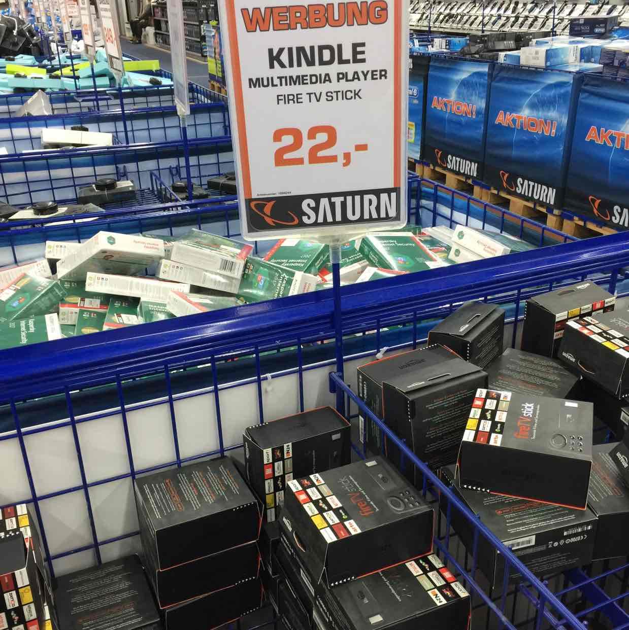 Fire  Stick 22€ anstatt 39,49€ laut idealo im Saturn Stuttgart