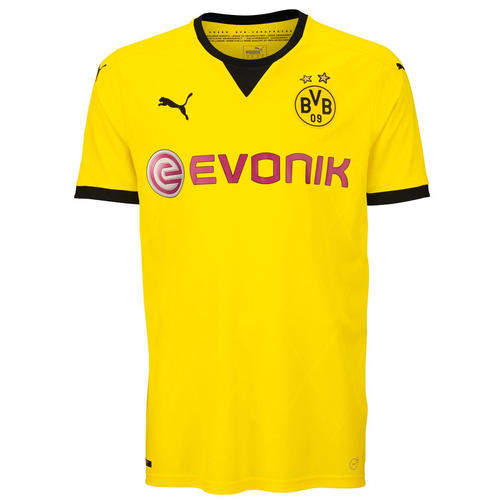 [Ebay] Puma Fußball Trikots BVB Borussia Dortmund, FC Arsenal London, Fortuna Düsseldorf für je 19,99 Euro