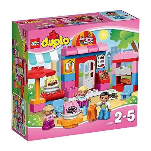 Amazon prime: LEGO DUPLO 10587 - Cafe, Minifigur plus gratis Geschenk Lego Duplo Schnecke