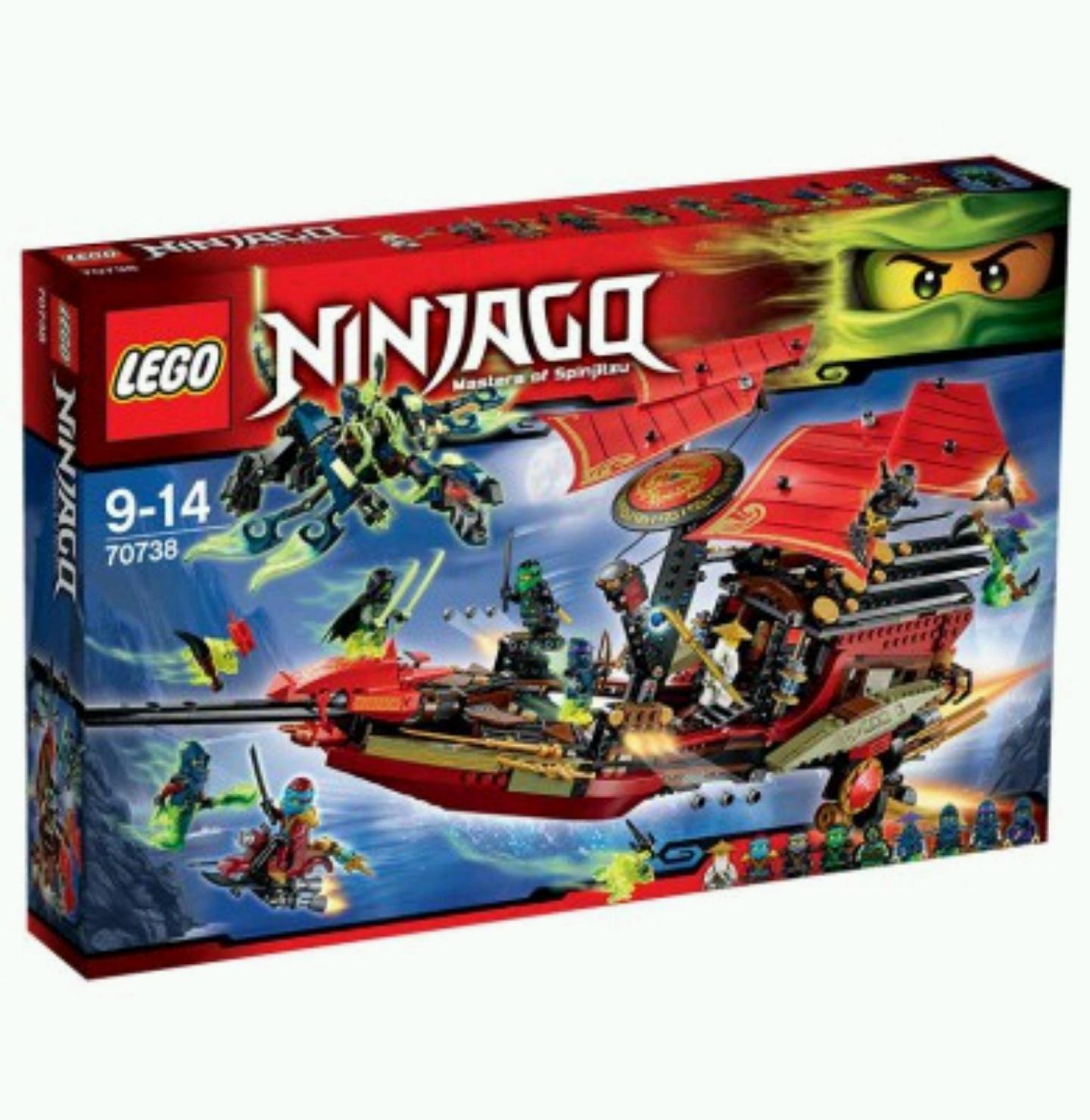 [Spielemax] Lego Ninjago 70738 - letzte Flug des Ninja-Flugsegler