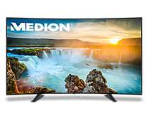 [Medion] Bundle : Medion LIFE X18149 (MD 31149) Fernseher 123,2 cm (49 Zoll) Ultra HD LED-Backlight TV + Medion Life X5004 (MD 99238) Dual Sim schwarz GRATIS + 4% shoop + 10€ Amazon Gutschein