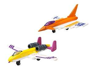 Amazon Plus Produkt: Matchbox 4260418750379 - Y9404_Y9405 Skybusters Magic Set 3, Fairchild Thunderback und Typhoon Euro Fighter