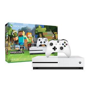 Microsoft Xbox One S 500GB inkl. Minecraft für 219€bei eBay