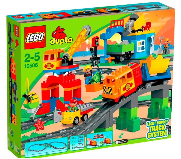 20% Rabatt auf Lego Duplo (39€ MBW) bei [MyToys] z.B. Eisenbahn Super Set 10508 für 73,94€ statt ca. 90€