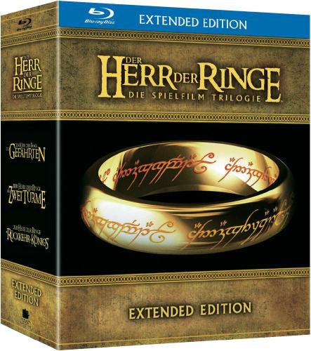 [Lokal Saturn Witten] Herr der Ringe Extended Trilogie Blu Ray 25€