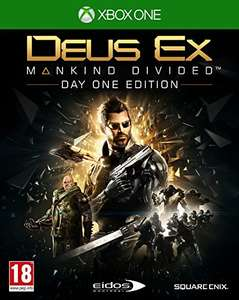 Deus Ex: Mankind Divided Day One Edition (Xbox One) für 23,47€ Inkl. VSK (Amazon.co.uk)