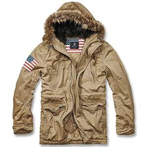 Brandit Herren Jacke Vintage Explorer Stars + Stripes  (Amazon)