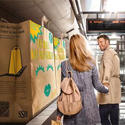 (Stuttgart) VVS-Ticket für Zone 10 und 20 zum Einkauf im Gerber am 17.12.16 gratis