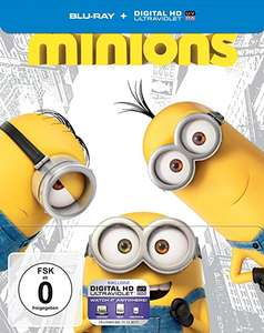 BLITZANGEBOT AMAZON  Minions (Steelbook) [Blu-ray] [Limited Edition]