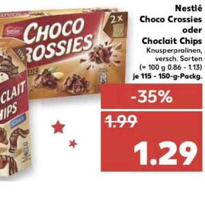 Nestle choco crossies kaufland ab Donnerstag