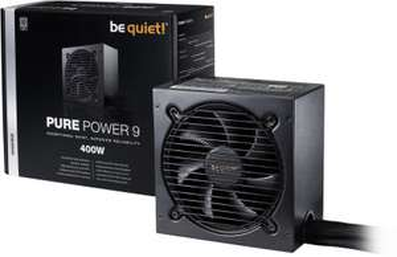 be quiet! Pure Power 9 Netzteil (80+ Silber) mit 400W für 42,73€ [Digitalo]