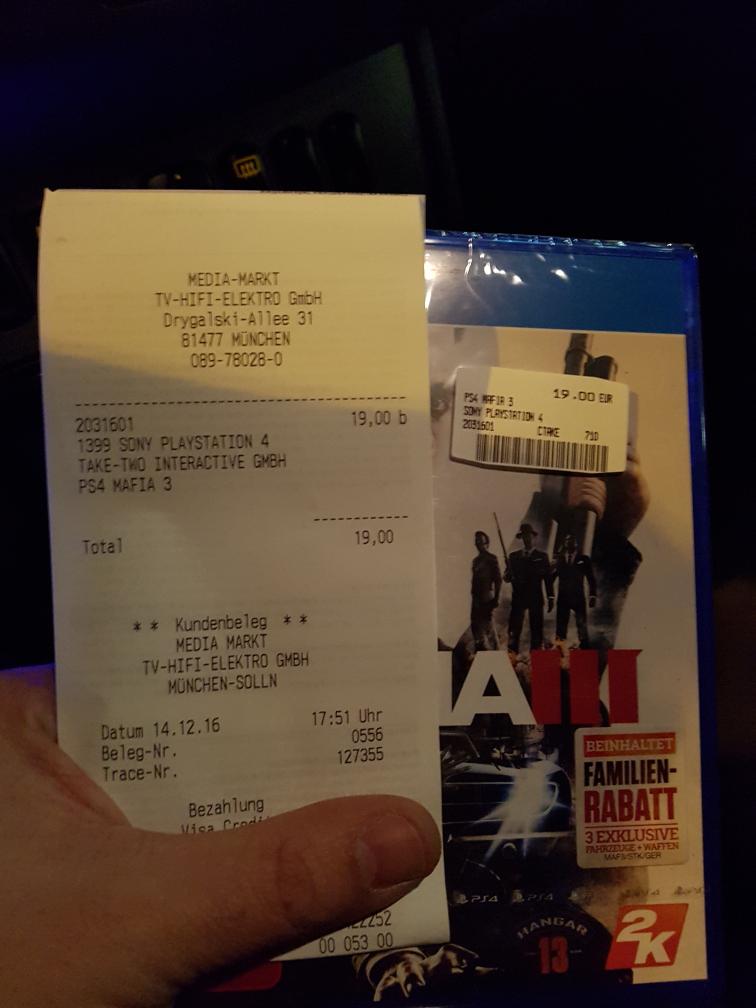 PS4 Mafia3 oder NBA2K17  (MM Lokal? München)