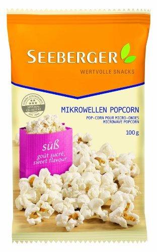 Seeberger Mikrowellen-Popcorn süß, 11er Pack AMAZON PRÌME