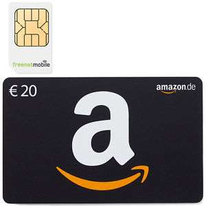 Freenetmobile DuoSim + 20€ Amazon Gutschein