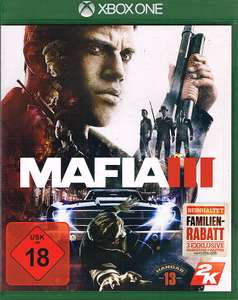 Mafia 3 Uncut D1 Edition + 6 DLCs (Xbox One) für 29,99€ Inkl. VSK (gameware.at)