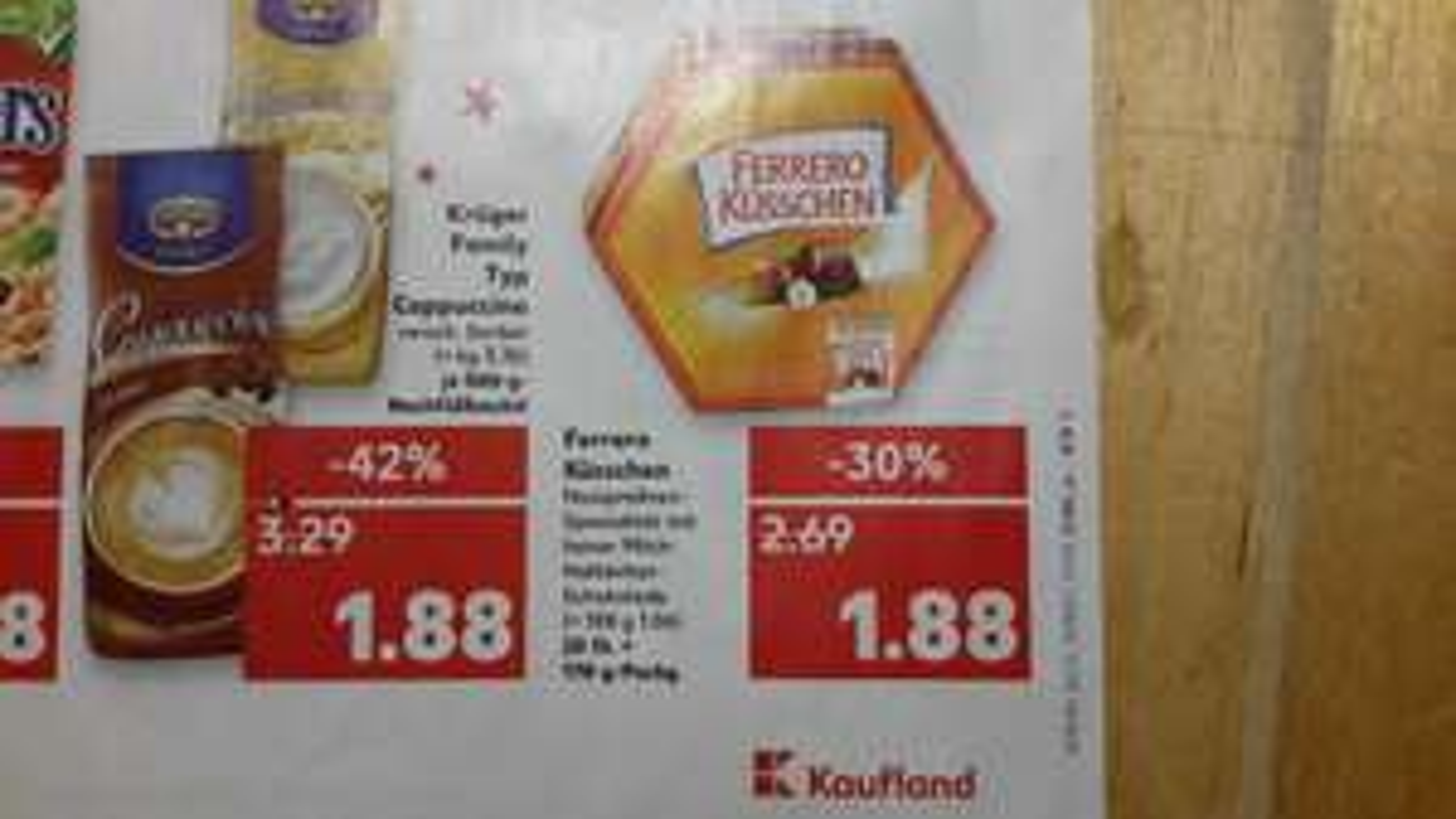 [Regional Königs Wusterhausen] Ferrero Küsschen bei Kaufland