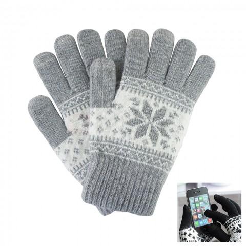 [Zapals/China] (Winter)Handschuhe fürs Smartphone (30% Wolle + 70% Acrylic)