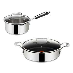 (Ebay) Tefal Jamie Oliver E79071 Servierpfanne + E79122 Stielkasserolle Edelstahl