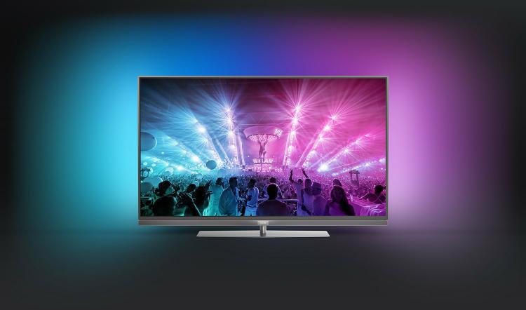 abgelaufen!      [Amazon]Philips 55PUS7181 (55 Zoll) Android 4K-Fernseher (3-seitigem Ambilight und PixelPrecise Ultra HD und HDR)