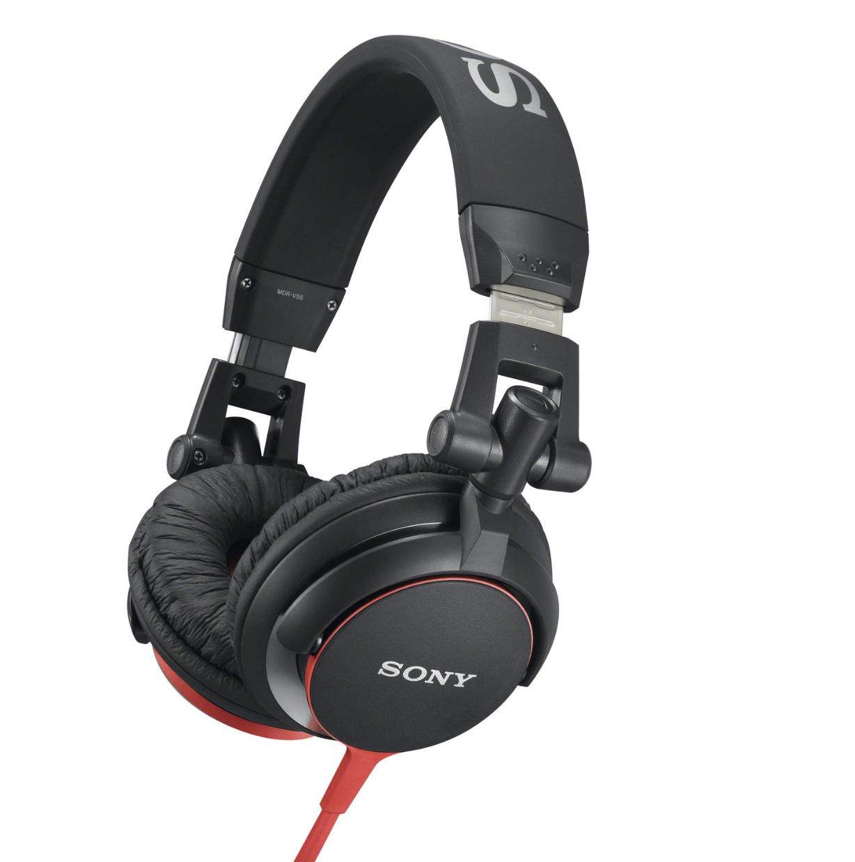 (Amazon Prime) - Sony MDR-V55 DJ Stereo Kopfhörer - rot oder blau