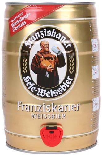 Viele Bierangebote bei Amazon (Dosen + Fässchen) - Warsteiner, Desperados, Somersby - z.B. Franziskaner Hefe im 5L Fass für 7,99€