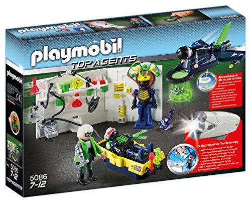 Playmobil Sammeldeal u. A.  Amazon prime  Playmobil 5086 - Agentenlabor mit Flieger und weitere Spiele Sets