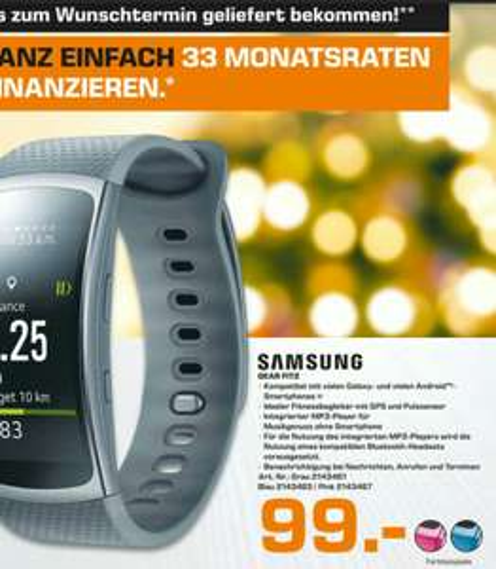 Samsung Gear Fit 2 (Saturn München)