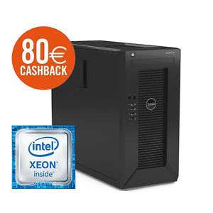 Dell PowerEdge T20 - Intel Xeon E3-1225 v3, 4GB RAM, 1TB HDD - 288€ @ Cyberport/ebay [- 80€ Cashback]