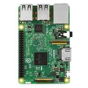 (Gearbest) Raspberry Pi 3 Model B Wireless - LAN, RAM 1 Go, Bluetooth 4.1, Wi-Fi, 4 USB 2.0