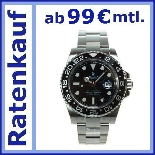 ROLEX 116710 GMT ab 99,-€ monatlich finanzieren (0% bis 9,9% eff. Jahreszins) @wunschleasing.eu