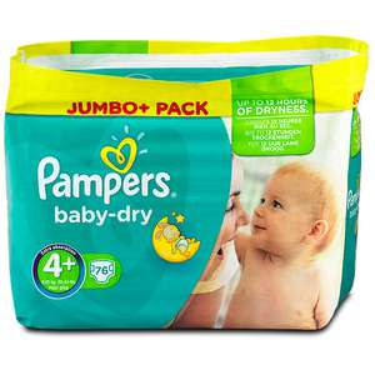 [Rossmann] Pampers Baby Dry Jumbo+ alle Größen