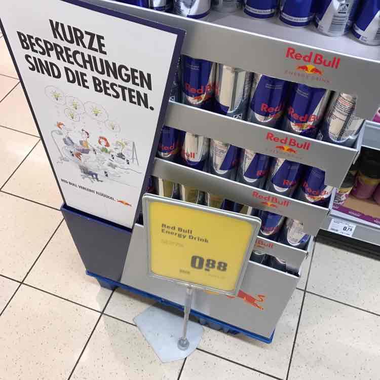 Red Bull Energy Drink - für 0,88€ bei Rewe!