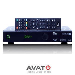 Next YE-2000 DVB-S2 Sat Receiver, günstiger FHD Receiver mit guter Ausstattung PVR etc.