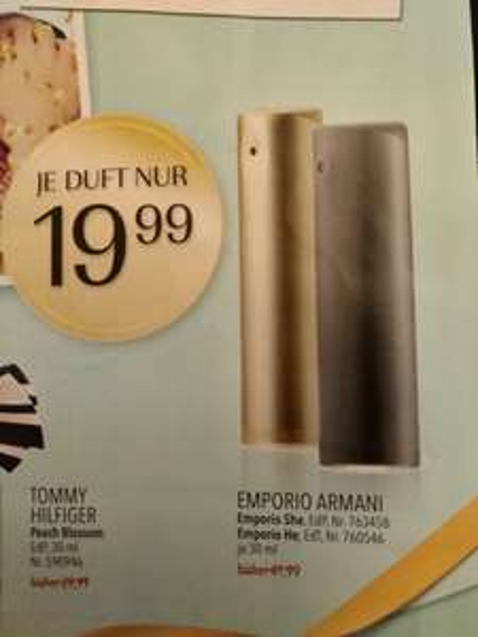 [Douglas]Emporio Armani he/il 30ml Eau de Toilette(EdT)