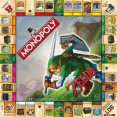 Monopoly: The Legend of Zelda Collector's Edition für 26,65€ [Thalia]