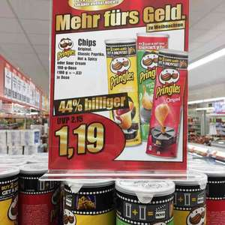 Norma Filialen Pringles im Angebot bundesweit?