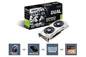 Asus Dual Geforce GTX 1070 OC + Watch Dogs 2 für 399€ - 30€ Cashback = 369€ [Ebay + Mindfactory]
