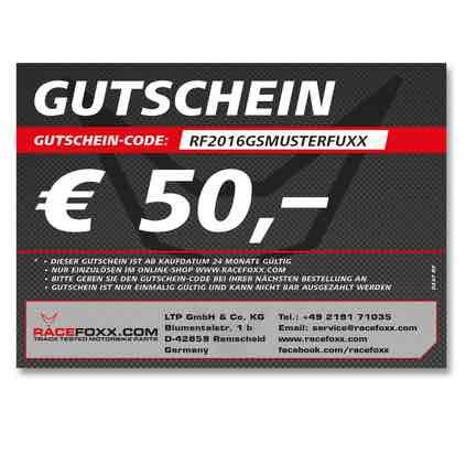 Racefoxx 50€ Gutschein + Hardbox | min 10% geschenkt